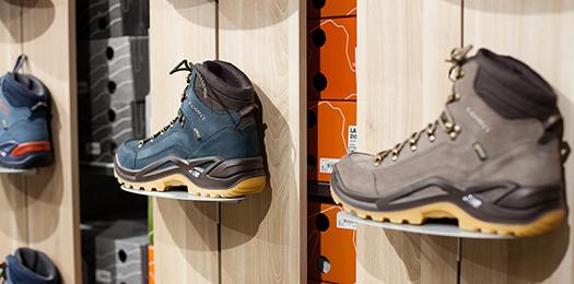 Outdoorschuhe aus dem Schuhhaus Salge in Calberlah. Outdoor-Schuhe für die Region Braunschweig, Wolfsburg und Gifhorn.